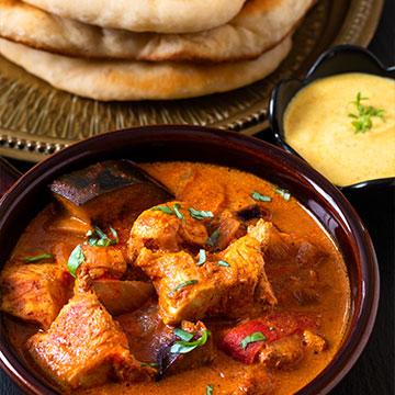 Indisches Restaurant Speisekarte