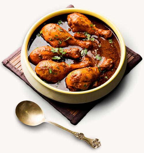 Restaurant indisch Menü
